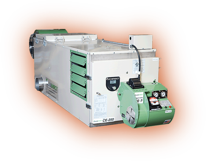 Waste oil furnaces waste oil burners waste oil heaters for Innovative hvac systems
